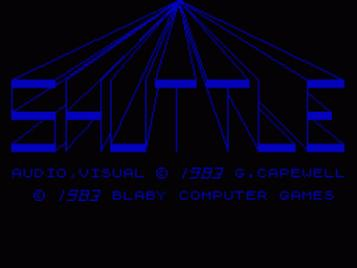 Shuttle (1983)(Blaby Computer Games)(Side A)