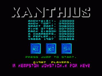Xanthius (1987)(Players Software)