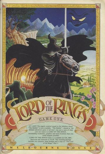 Lord Of The Rings - Game One (1986)(Melbourne House)(Side A)[a]