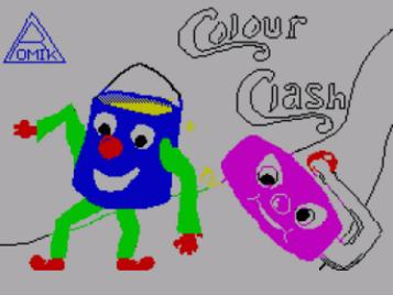 Colour Clash (1983)(Romik Software)[16K]