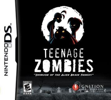 Teenage Zombies - Invasion Of The Alien Brain Thingys! (SQUiRE)