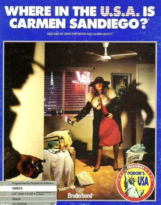 Where In The USA Is Carmen Sandiego_Disk1