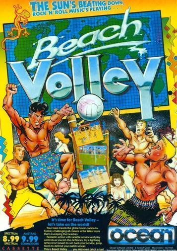 Beach Volley (1989)(Erbe Software)[t][48-128K][re-release]
