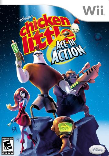 Disney's Chicken Little- Ace In Action