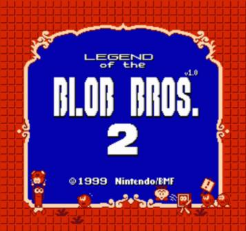 Legend Of The Blob Brothers 2 V1.0 (SMB2 Hack)