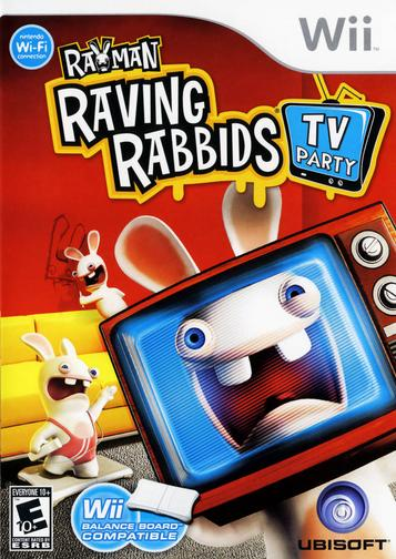 Rayman Raving Rabbids TV Party ROM   WII Games   Download ROMs