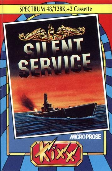 Silent Service (1986)(Erbe Software)[re-release][large Case]