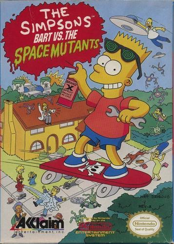 Simpsons - Bart Vs The Space Mutants, The