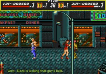 Bare Knuckle - Ikari No Tetsuken ~ Streets Of Rage (World) (Rev A)