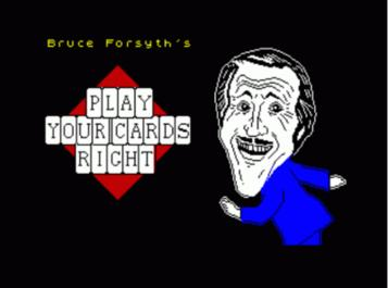 Play Your Cards Right (1986)(Britannia Software)