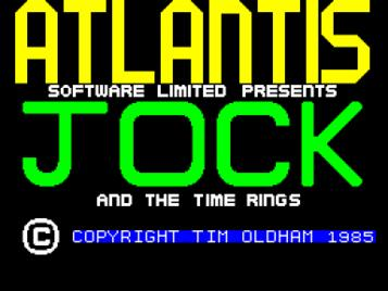 Jock And The Time Rings (1985)(Atlantis Software)[a]