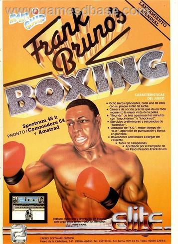 Frank Bruno's Boxing (1985)(Encore)[re-release]