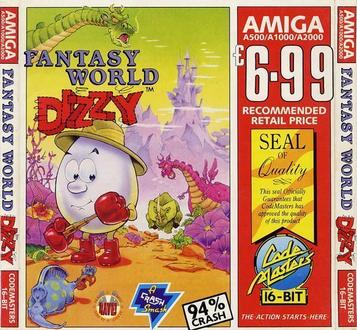 Fantasy World Dizzy ROM | A500 Games | Download ROMs