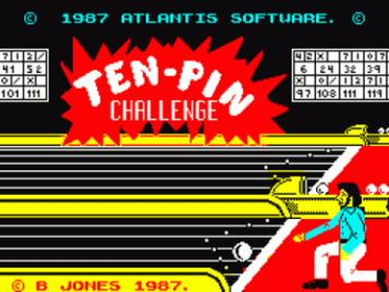 Ten Pin Challenge (1987)(Atlantis Software)[a]