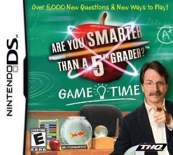 Are You Smarter Than A 5th Grader - Game Time (Trimmed 247 Mbit)(Intro)