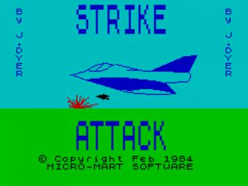 Strike Attack (1984)(Micro-Mart Software)
