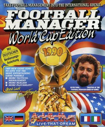 Football Manager - World Cup Edition (1990)(Prism Leisure)[re-release]