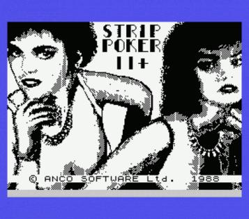 Strip Poker II Plus (1988)(IBSA)(Side A)[re-release][aka Strip Poker II+]