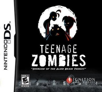 Teenage Zombies - Invasion Of The Alien Brain Thingys!