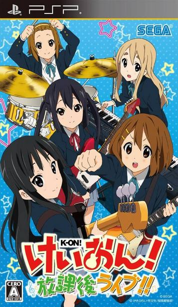 K-ON Houkago Live ROM   PSP Games   Download ROMs