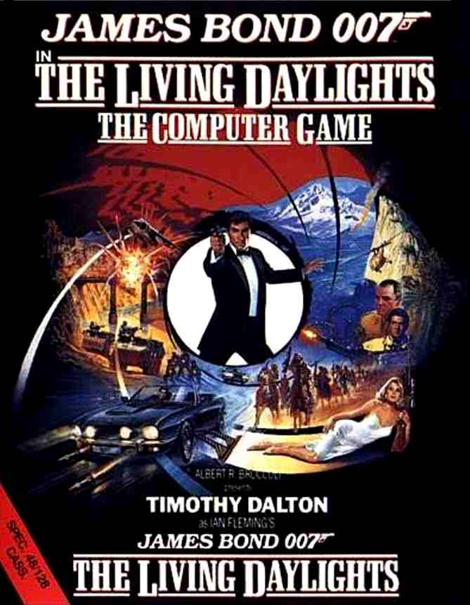 007 - The Living Daylights (1987)(Domark)[cr LPS]