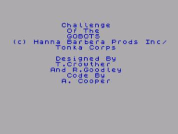 Challenge Of The Gobots (1987)(Reaktor)(Side A)[48-128K]