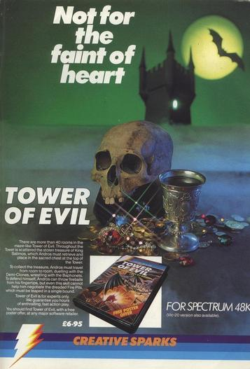 Tower Of Evil (1984)(Alternative Software)[re-release]