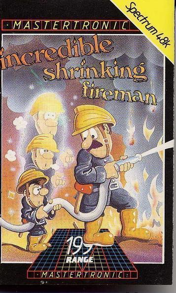 Incredible Shrinking Fireman, The (1986)(Mastertronic)[a2]