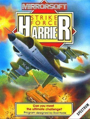 Strike Force Harrier (1986)(Mirrorsoft)[48-128K]