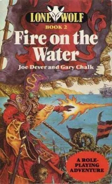 Lone Wolf II - Fire On The Water (1984)(Hutchinson Computer Publishing)[b]