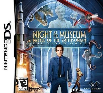 Night At The Museum - Battle Of The Smithsonian - The Video Game (US)(Suxxors)