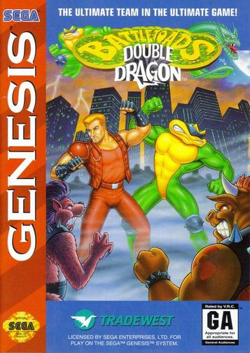 Battletoads And Double Dragon [c]