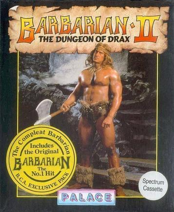 Barbarian II - The Dungeon Of Drax (1988)(Palace Software)[128K]