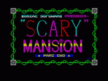 Scary Mansion (1987)(Delbert The Hamster Software)(Side B)[a][re-release]