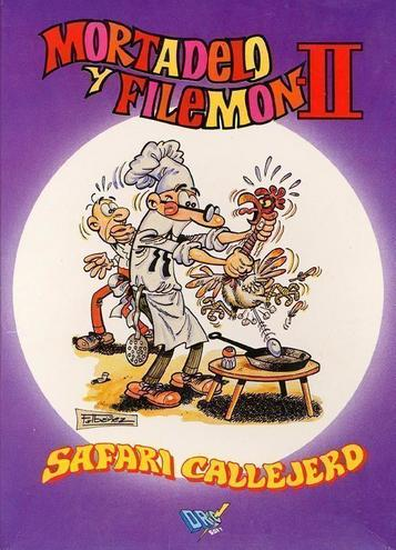 Mortadelo Y Filemon II - Safari Callejero (1990)(Dro Soft)(es)(Side B)[128K]