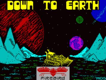 Down To Earth (1987)(Firebird Software)