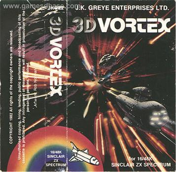3D Vortex (1983)(J.K. Greye Enterprises)[16K]