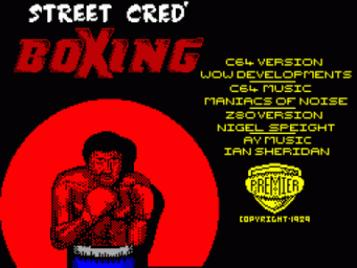 Street Cred Boxing (1989)(Players Premier Software)[a][48-128K]