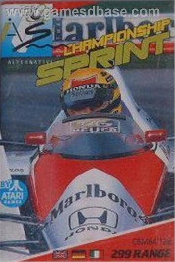 Championship Sprint - Track Editor (1988)(Electric Dreams Software)