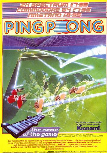 Konami's Ping Pong (1986)(The Hit Squad)[re-release]