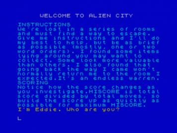 Alien City, The (1984)(Pirate Software)