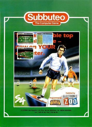 Subbuteo - The Computer Game (1990)(Electronic Zoo)