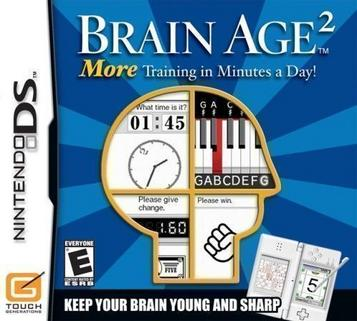 Brain Age 2 - More Training In Minutes A Day (Mr. 0)