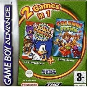 2 In 1 - Sonic Pinball Party & Columns Crown