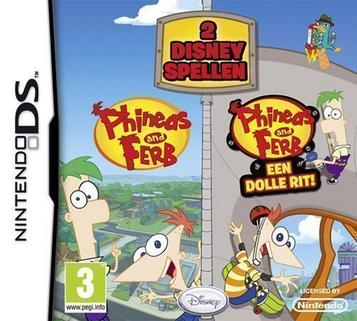 Phineas And Ferb - 2 Disney Games