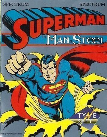 Superman - The Man Of Steel (1989)(System 4)(Side A)[re-release]